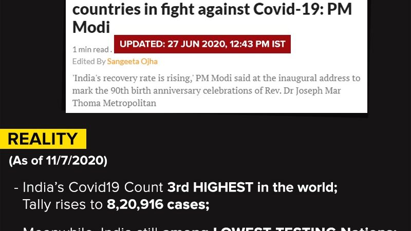 India much better placed than other countries in fight against Covid-19